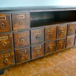 Upcycled 20 Drawer Buffet | All About That JUNK