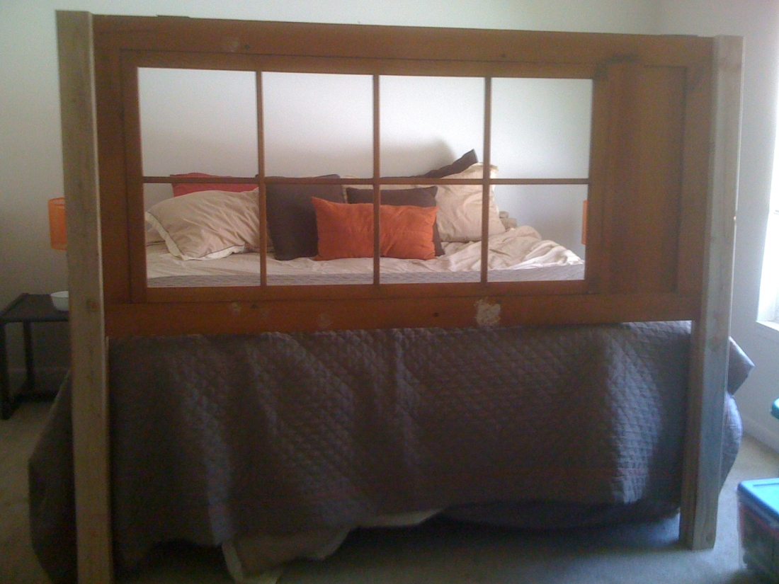 Antique Door Bed Frame