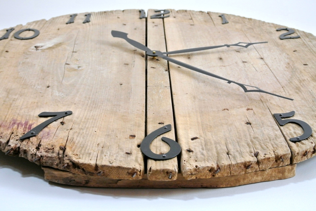 diy wall clock all about that junk