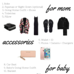 Hospital Bag Packing List for Formula Moms | 10 on Tuesday